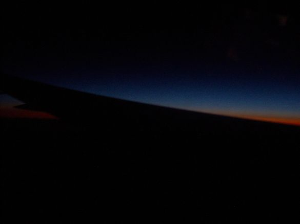 Sunrise over Greenland, 15 Meith/Jun/Juin 2013 at 3.00 UTC.