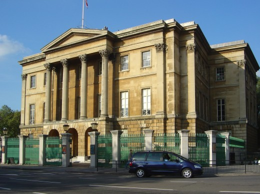 Apsley House, courtesy of the Wikimedia Commons.