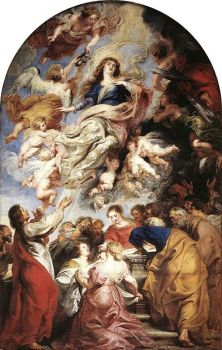 Assumption of Mary - Reubens.