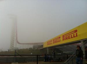Foggy Friday morning