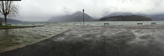 Lake Annecy 8 April 2016