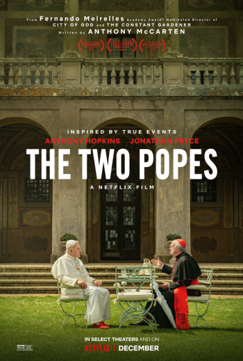 Two Popes poster